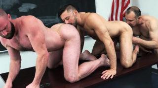 Teacher And Stepdad Plow An Innocent Boys Tight Butthole
