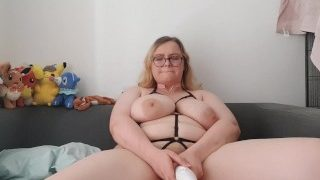 Eight orgasms with a butt plug inside me