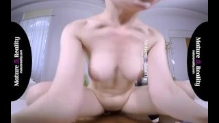 MatureReality VR – Russian Milf gets squeezed