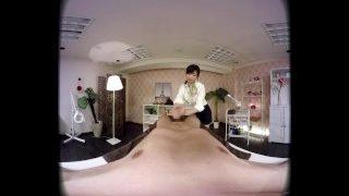 ZENRA JAV VR CFNM Massage Clinic Handjob and Blowjob